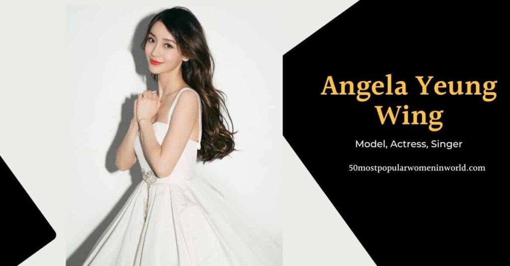 Angela Yeung Wing most attractive women