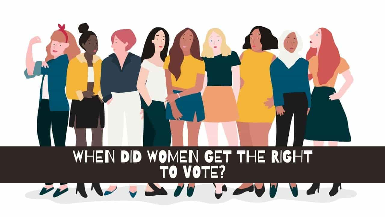 When Did Women Get The Right To Vote
